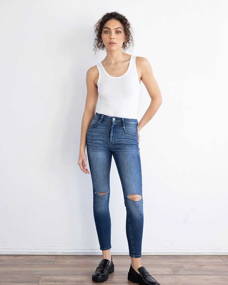 Kancan Kancan 'Andrea' Ultra High Rise Super Skinny Jeans