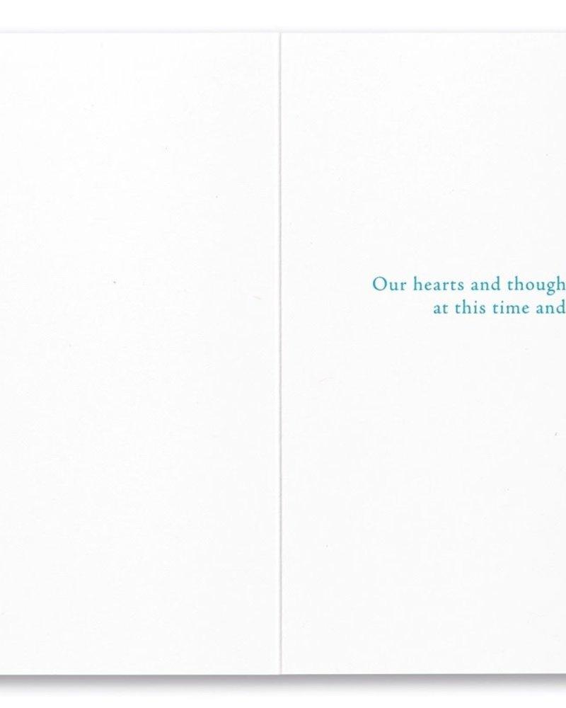 Compendium Compendium Sympathy Card 'The Poets are Right'