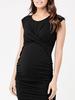 Ripe Ripe Maternity Black 'Cross My Heart Dress'