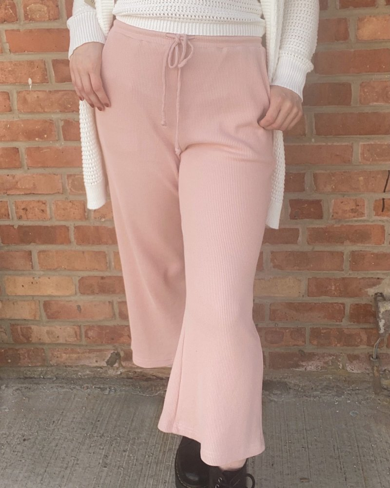 RD Style RD Style 'Shrimp Scampi' Cropped Wide Leg Pant **FINAL SALE**