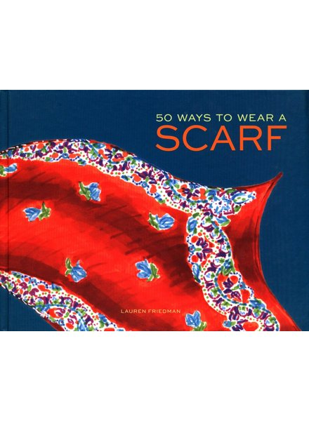 Chronicle Books '50 Ways To Wear A Scarf' Book **FINAL SALE**