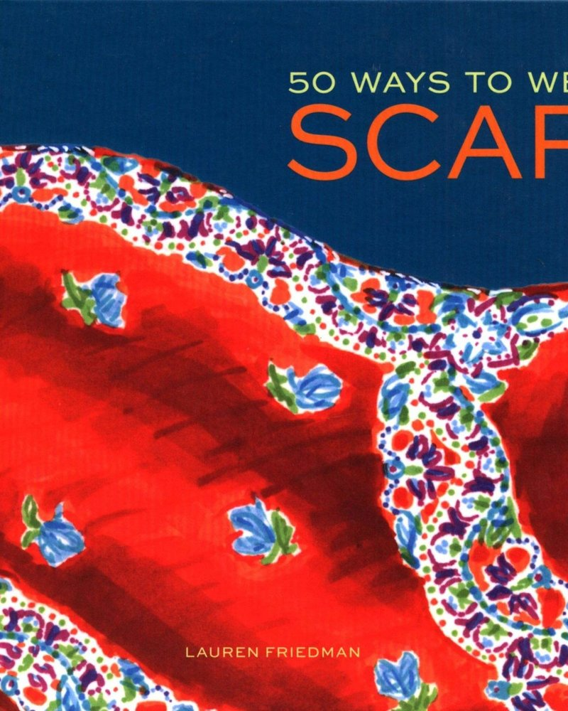 Chronicle Books Chronicle '50 Ways To Wear A Scarf' Book **FINAL SALE**