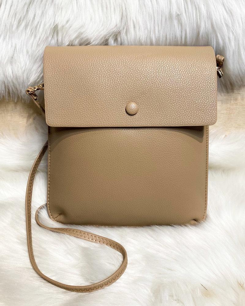 'Flatline' Crossbody Bag