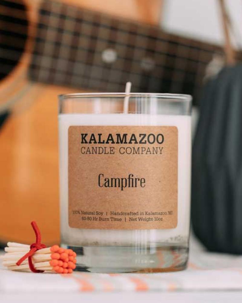 Kalamazoo Candle Co. Kalamazoo Jar Candle in Campfire