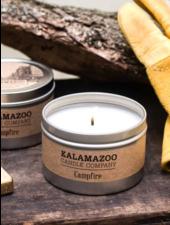 Kalamazoo Candle Co. Tin Candle in Campfire