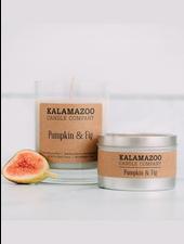 Kalamazoo Candle Co. Jar Candle in Pumpkin & Fig