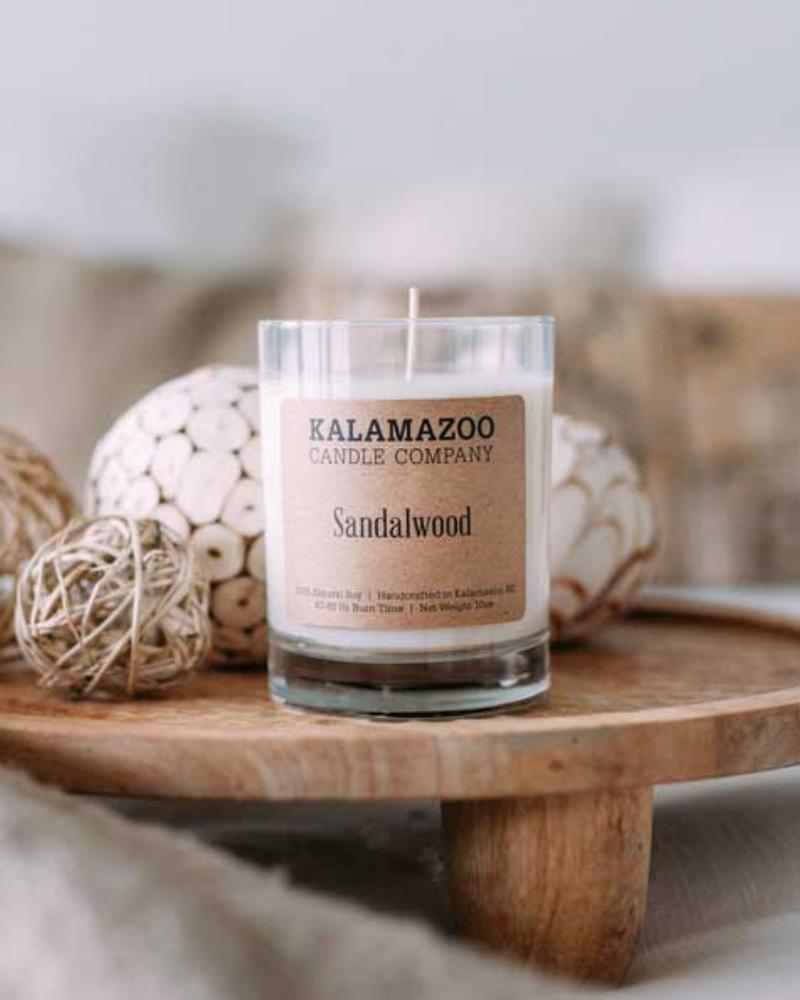 Kalamazoo Candle Co. Kalamazoo Jar Candle in Sandalwood