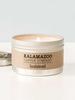 Kalamazoo Candle Co. Kalamazoo Tin Candle in Sandalwood