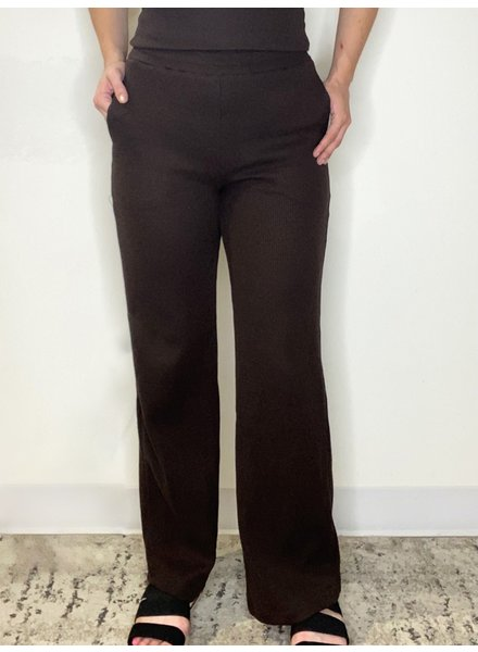 RD Style 'A Piece Of Dark Chocolate' Knit Pant