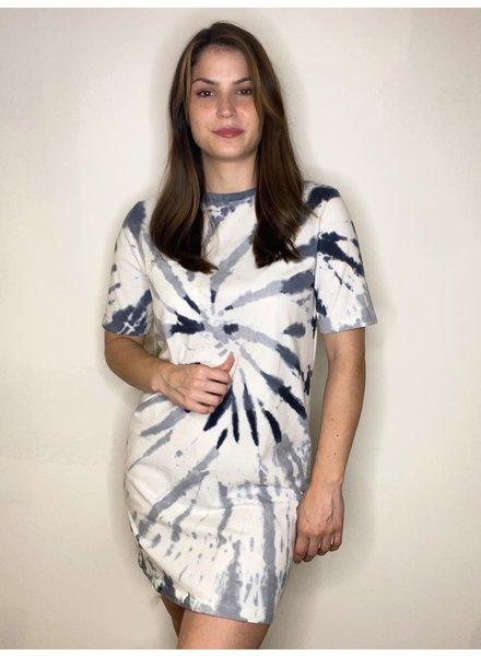 RD Style 'Dye Explosion' Tie-Dye Shirt Dress