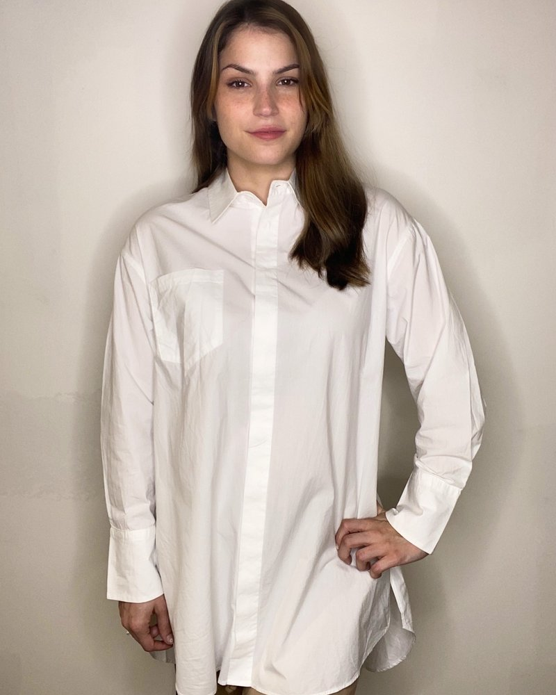 RD Style RD Style 'Risky Business' Button Down Tunic