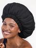 KITSCH Kitsch Satin Sleep XL Adjustable Bonnet   Black
