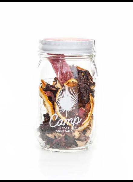 Camp Craft Cocktails Hibiscus Ginger Lemon Infusion Kit