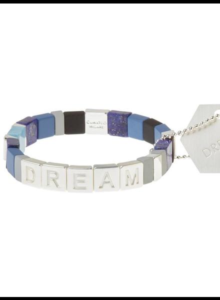 Scout Curated Wears Empower Bracelet | Dream Silver/Lapis/Jasper