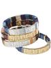 Scout Curated Wears Scout Empower Bracelet   Dream Silver/Lapis/Jasper