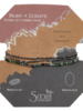Scout Curated Wears Scout Ruby Zoisite/Hematite Delicate Stone Wrap Bracelet/Necklace
