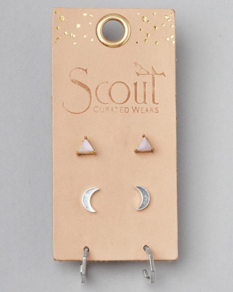 Scout Curated Wears Scout Ella Stud Trio