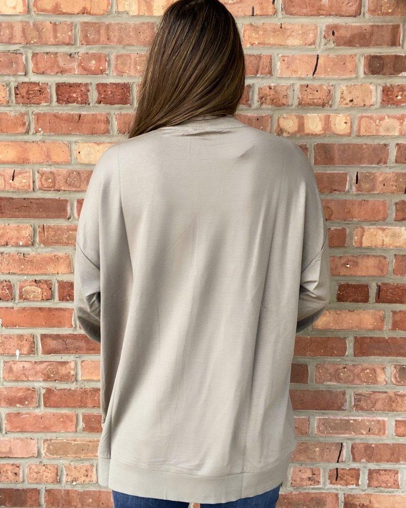 BB Dakota BB Dakota 'Neck Question' Sweatshirt