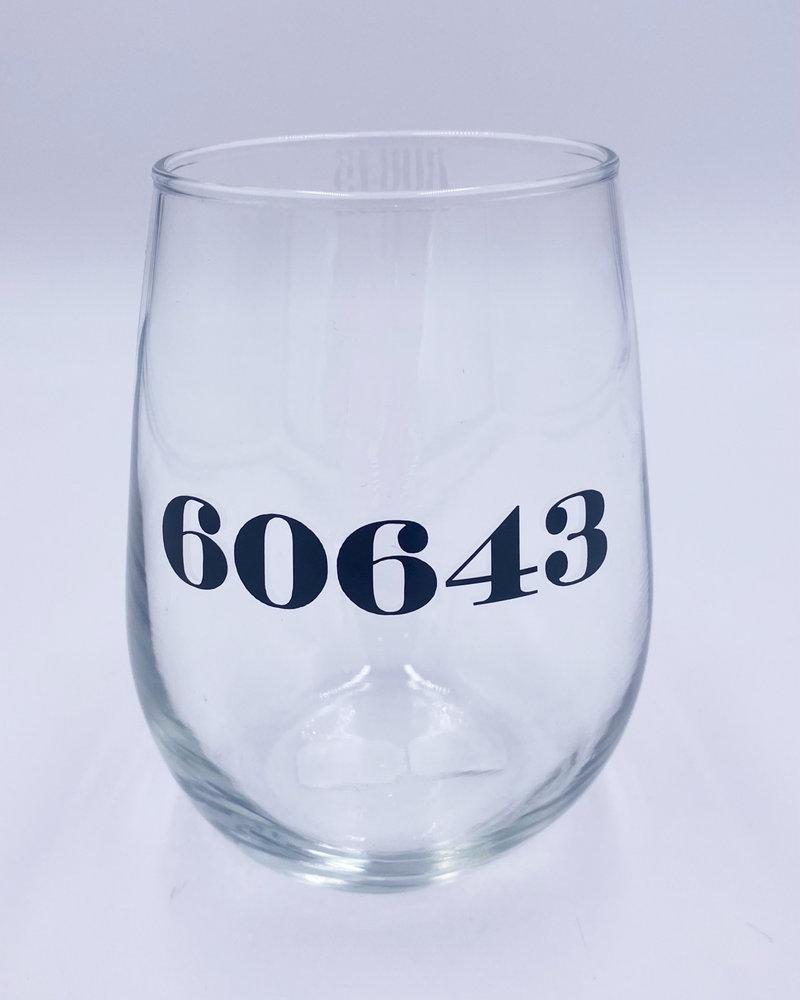 Meg Made Art Meg Made Art '60643' Wine Glass