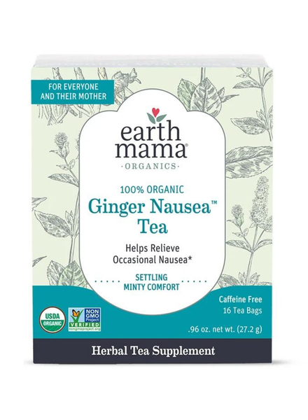 Earth Mama Organics Ginger Nausea Tea
