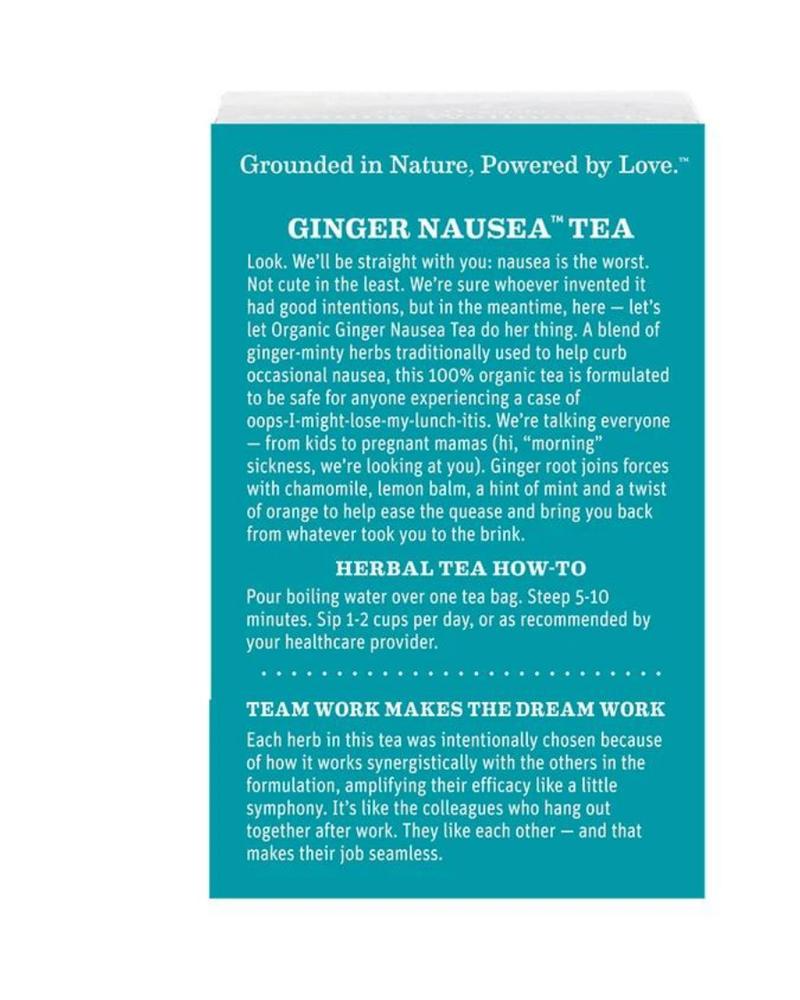 Earth Mama Organics Earth Mama Organic Ginger Nausea Tea