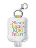 Studio Oh! Studio Oh! Hand Sanitizer Holder | Clean Hands Kind Heart