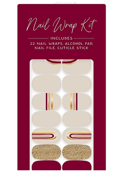 Studio Oh! Mani Nail Wrap Kit   Muted Rainbow