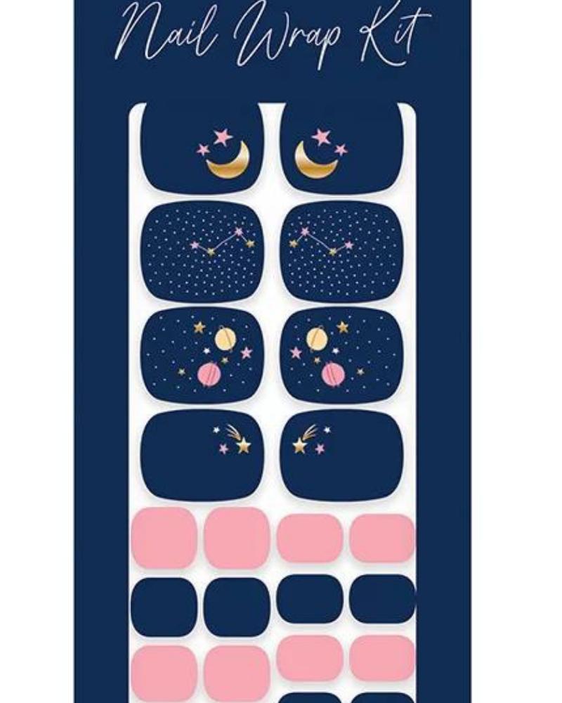 Studio Oh! Studio Oh! Pedi Nail Wrap Kit | You Are Made Of Stars