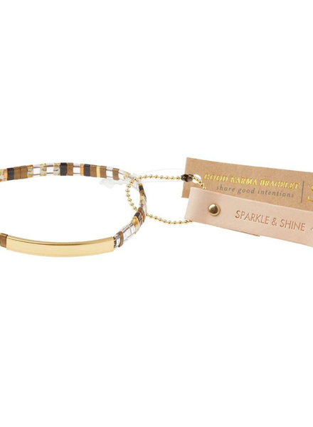 Scout Curated Wears Good Karma Sparkle & Shine Topaz/Gold