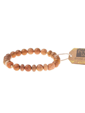 Scout Curated Wears Petrified Wood Stone Stacking Bracelets
