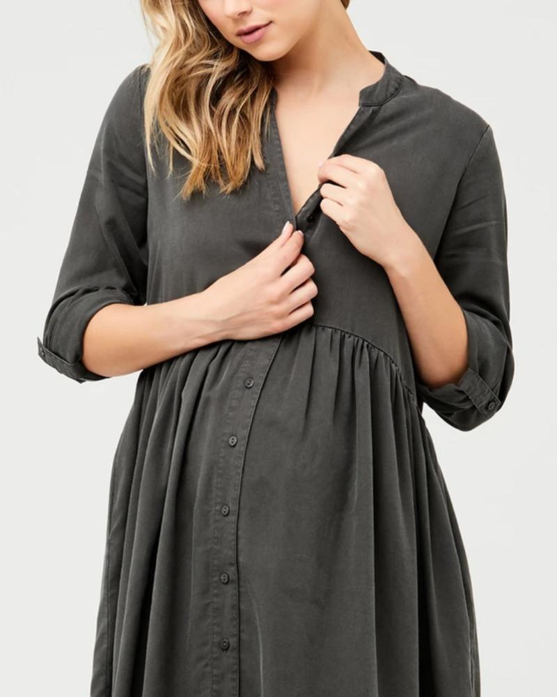 Ripe Ripe Maternity 'Demi' Tencel Dress