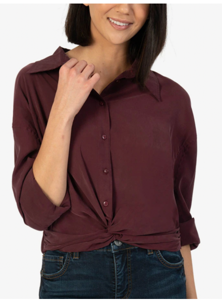 Kut from the Kloth 'Callie' Twist Front Shirt
