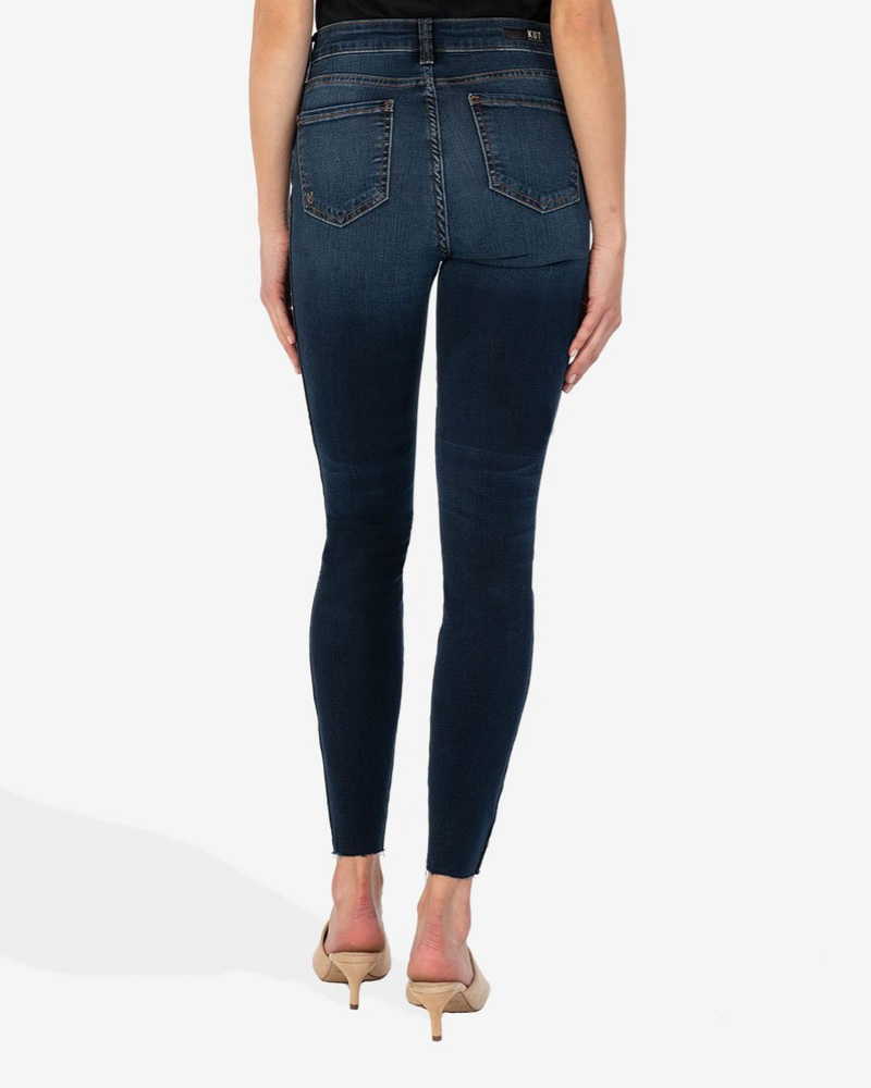 Kut from the Kloth Kut from the Kloth 'Connie' High Rise Skinny Ankle Jeans in Giddy