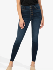 Kut from the Kloth 'Connie' High Rise Skinny Ankle Jeans in Giddy