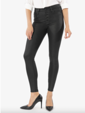 Kut from the Kloth 'Mia' High Rise Slim Fit Skinny Jeans in Black