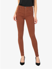 Kut from the Kloth 'Mia' Toothpick Skinny Jeans in Clay