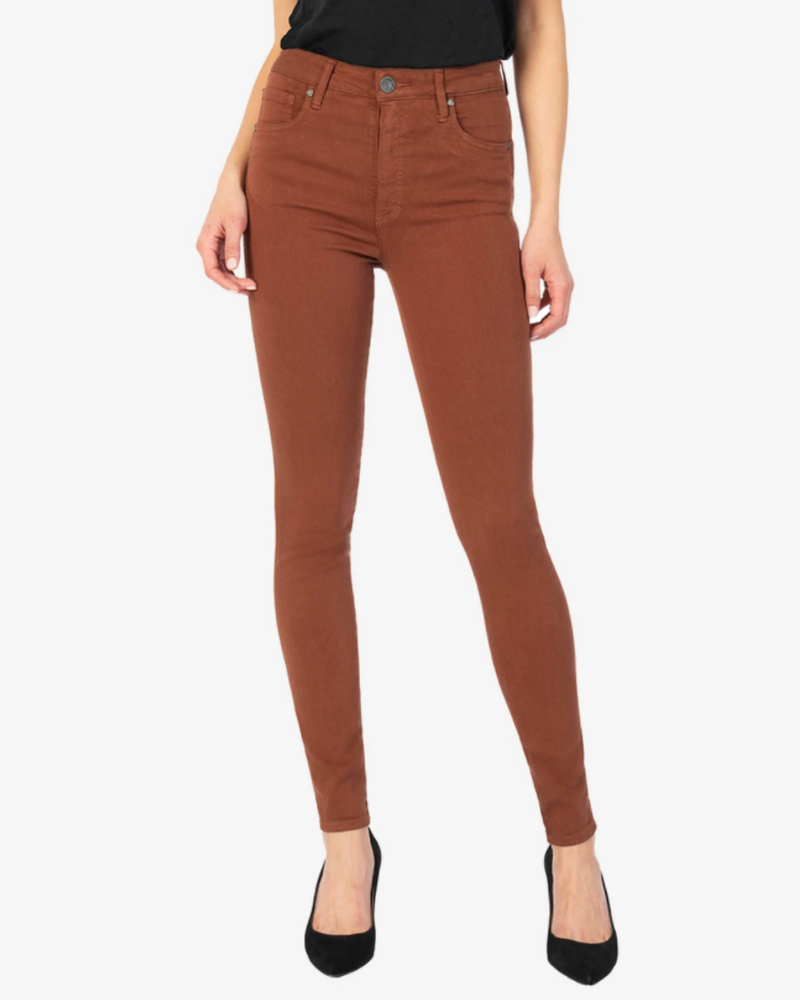 Kut from the Kloth Kut from the Kloth 'Mia' Toothpick Skinny Jeans in Clay