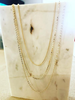 Must Have Must Have Must Get   Mixed Chain Layered Necklace