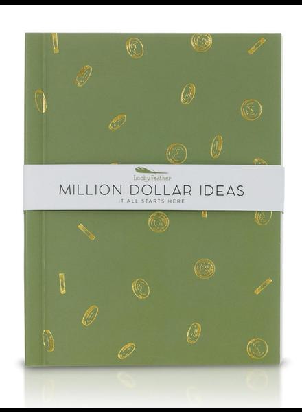 Lucky Feather Delightful Journals | Million Dollar Ideas