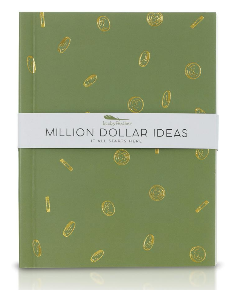Lucky Feather Lucky Feather Delightful Journals   Million Dollar Ideas