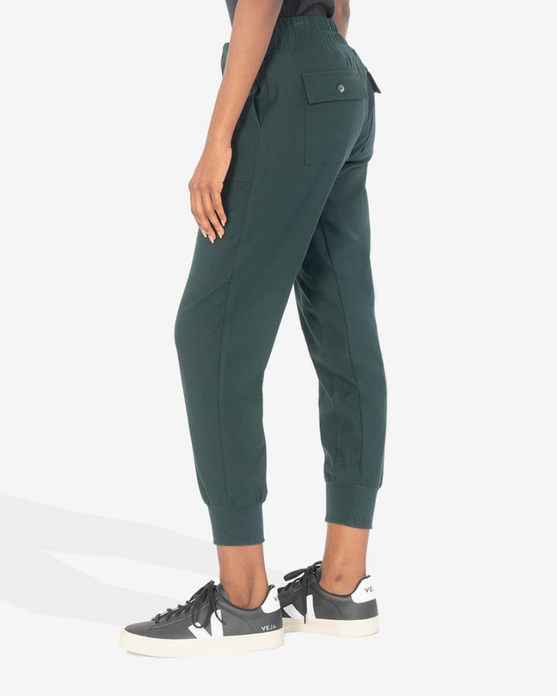 Kut from the Kloth Kut from the Kloth Deep Green 'Tyler' Jogger