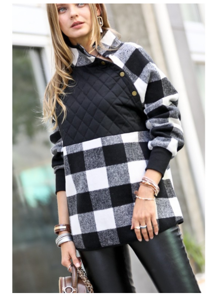 Mazik 'Quilt Your Talking' Pullover