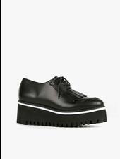 All Black Kiltie Ox Flatform