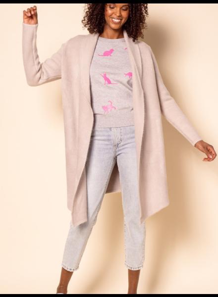 Pink Martini Collection Grey 'Stockport' Coatigan