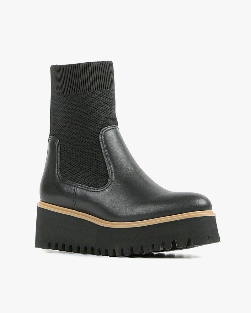 All Black All Black Flatform Sock Boot