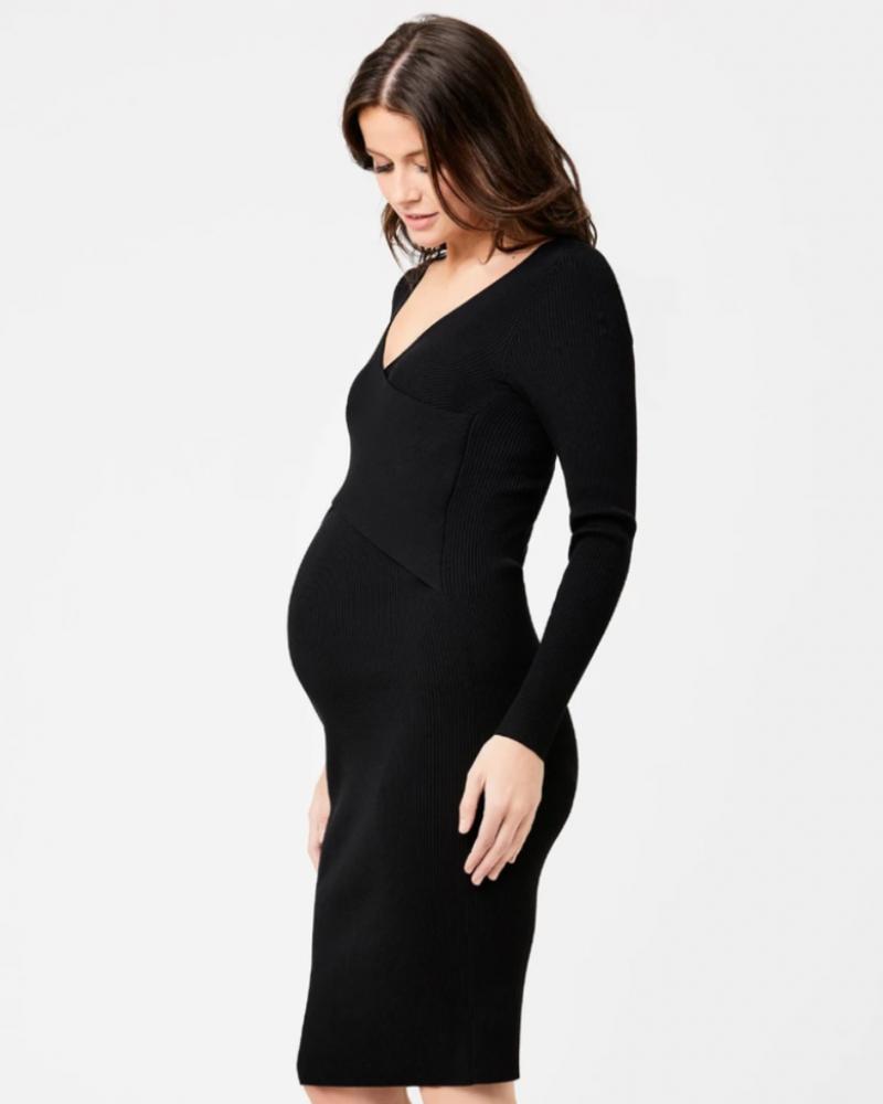 Ripe Ripe Maternity 'Sadie' Rib Knit Nursing Dress