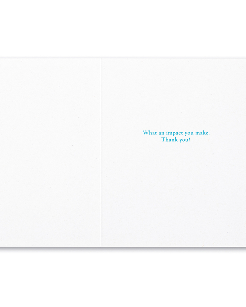 Compendium Compendium Thank You Card 'People Who Are Good To Each Other'