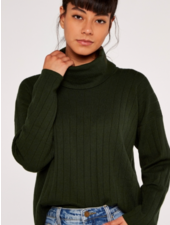 Apricot 'My Neck of the Woods' Sweater