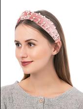 Jen & Co. 'Britta' Pearl Knot' Headband (More Colors)