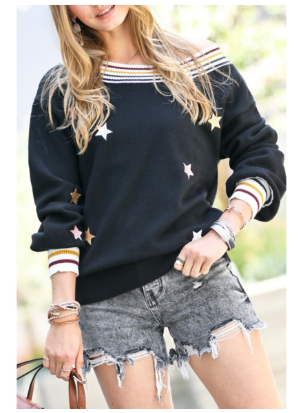 Mazik 'Reach For The Stars' Sweater